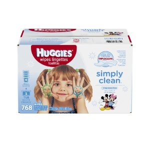 Huggies Simply Clean Baby Wipes, Refill Pack, Unscented, 768 Ct | Jet.com