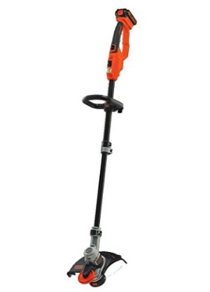 BLACK+DECKER LST420 20V MAX Lithium High Performance Trimmer and Edger, 12