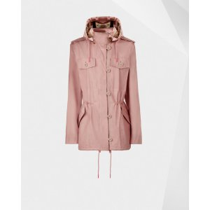 Womens Pink Utility Jacket | Official US Hunter Boots Store