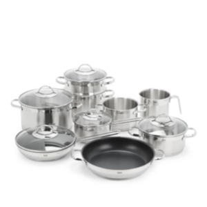 WMF - 14-Piece Achat Stainless Steel Cookware Set - saksoff5th.com