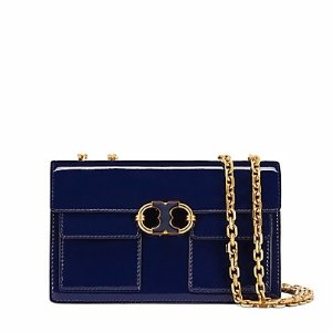 Tory Burch Gemini Link Patent Chain Shoulder Bag : Women's Mothers Day