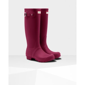 Womens Pink Tall Rain Boots | Official Hunter Boots Store