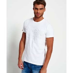 Superdry Vintage Logo Embossed T-shirt - Men's T Shirts