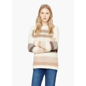 Striped wool-blend sweater - Women | OUTLET USA