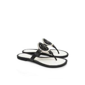 Tory Burch Fringe Miller Sandals