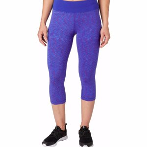 Reebok Women's Fitness Essential Tight Fit Printed Capris