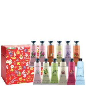 Crabtree & Evelyn Hand Therapy Gift Set - Red - 12 x 25g