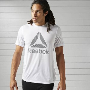 Reebok Men's WR Supremium 2.0 Tee Big Logo | FREE Shipping at ShoeMall.com
