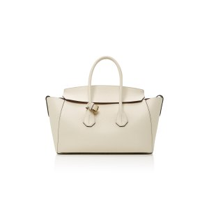 Textured-Leather Tote by Bally