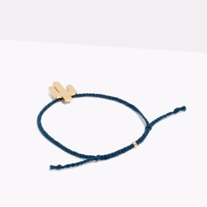 As Low As $4.19Corded Charm Bracelet @ Madewell