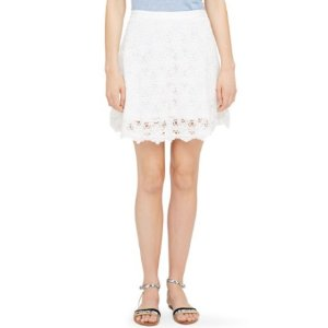 Olga Lace Skirt白色蕾丝裙子