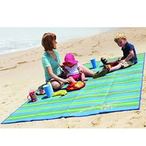 $5.78Camco Handy Mat with Strap, Perfect for Picnics, Beaches, RV and Outings, Weather-Proof and Mold/Mildew Resistant (Blue/Green - 60