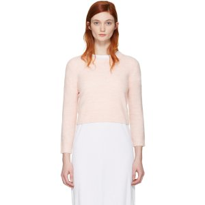 Acne Studios: Pink Mindy Pullover | SSENSE