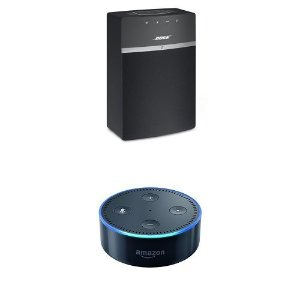 Amazon.com: Bose SoundTouch 10 (Black) + All-New Echo Dot (2nd Generation): Home Audio & Theater