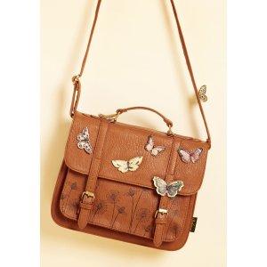 I'd Like to Mariposa Question Bag | ModCloth