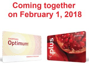 Shoppers Optimum 积分卡与 PC Plus 积分卡即将合并Loblaw 明年2月推出PC Optimum