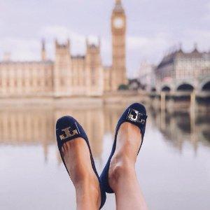 $189 (原价$275) 平底、小矮跟都有Tory Burch精选Gigi 美鞋热卖