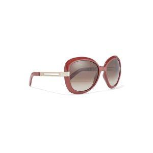 Square-frame acetate and metal sunglasses | Chloé