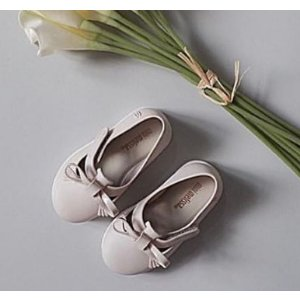 Mini Melissa Baby's & Toddler's Bow Detail Flats