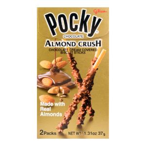 GLICO Almond Chocolate Pocky Stick 2packs 37g