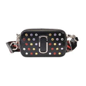 Crystals Snapshot Bag Marc Jacobs Black