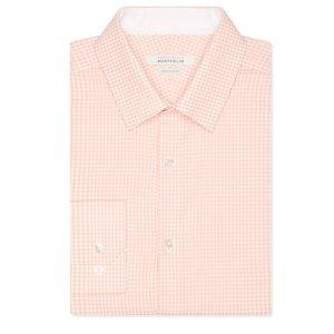 Very Slim Mango Gingham Dress Shirt