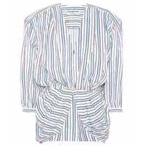 Balenciaga - Silk-blend blouse | mytheresa.com