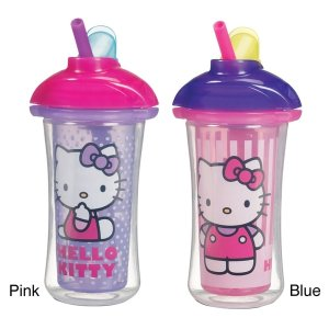 Munchkin Hello Kitty Click Lock Insulated Straw Cup - Free Shipping On Orders Over $45 - Overstock.com - 15045825