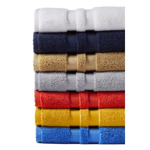 Essential Bath Towels from Lands' End