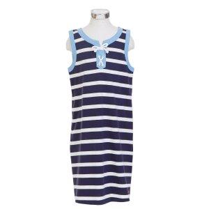 Little Girls' Striped Tunic Dress (2T-7) - Navy | Nautica