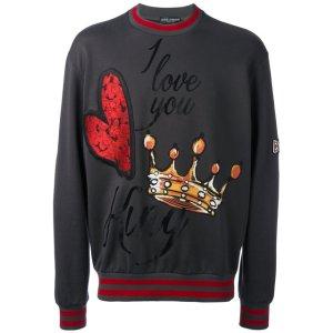 Dolce & Gabbana Embroidered Sweatshirt - Farfetch