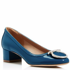 Salvatore Ferragamo Ena Gancini Low Heel Pumps | Bloomingdale's