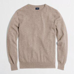 Cashmere crewneck sweater : Cashmere | J.Crew Factory