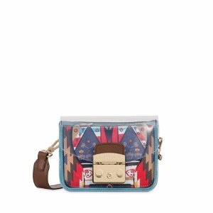 FURLA METROPOLIS MINI CROSSBODY CRYSTAL