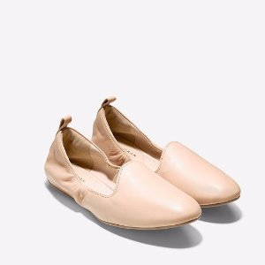 Tali Loafer Ballet Flats in Toasted Almond | Cole Haan