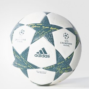 adidas Finale16 Top Training Soccer Ball - White | adidas US