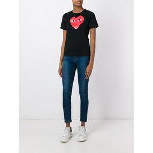 Comme Des Garçons Playheart print T-shirt