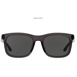 Giorgio Armani AR8066 56, Gry Clr, Gry Sunglasses