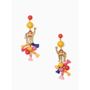 spice things up camel statement earrings | Kate Spade New York