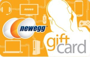 Get extra $5 or $10 Promotional Gift Card$50 or $100 Gift Card with Bonus Credit from Newegg