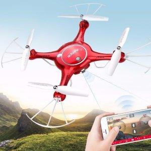 $39DoDoeleph Syma X5UW Wifi FPV 720P HD Camera Quadcopter Drone