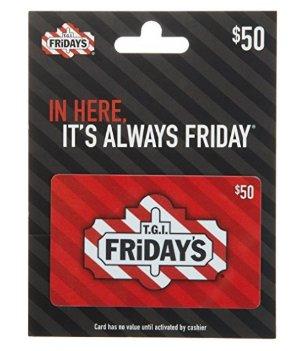 $40T.G.I. Friday's Gift Card