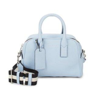 $177.99(原价$450)Marc Jacobs 小清新风淡蓝色手提包