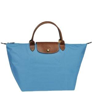 Longchamp Le Pliage Medium Handbag - Cornflower