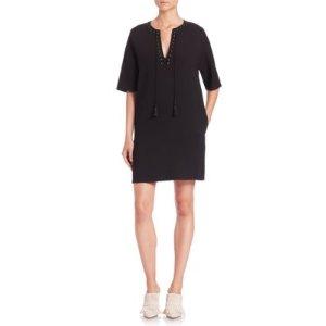 3.1 Phillip Lim Tassel Tie Shift Dress