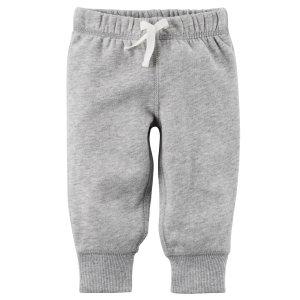 Sueded Fleece Pull-On Pants