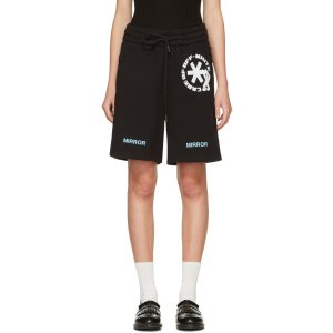 Off-White: Black Care 'Off' Shorts
