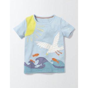 Big Appliqué T-Shirt 30112 Tops & T-Shirts at Boden