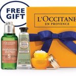 Redeem your gift @ L'Occitane