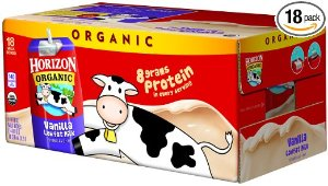 $14.99Horizon Organic Vanilla Milk, 8.0 Oz. Carton (18 count)